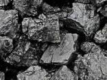 Каменный уголь марки Дг (13-100) зола до 10%