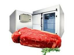 Камеры для мяса холодильные, морозильные, заморозки.