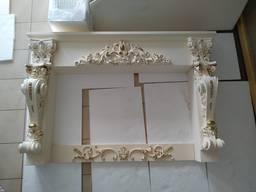 Камин из гипса, декоративный портал. Портал камина М10