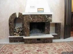 Камин из мрамора портал каминный мраморный камин