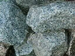 Камінь бут кар'єрний сірий, червоний граніт, рожевий кварцит