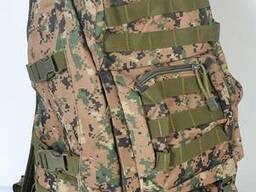 Камуфляжный тактический рюкзак на 45 л - Пиксель лес