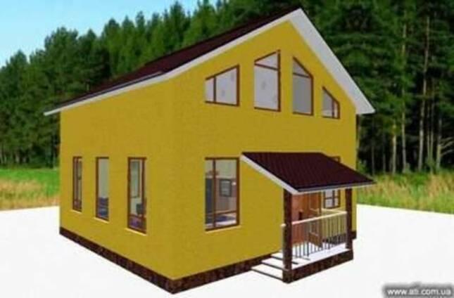 Канадский дом - со свободной планировкой