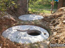 Каналізація з бетонних кілець