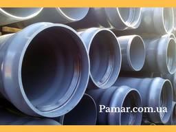 Каналізаційні труби ПВХ і ПП зовнішня та внутрішня 50-200 мм