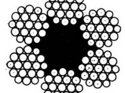 Канат ГОСТ 2688-80 черный и оцинкованный