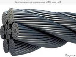Стальной канат ГОСТ 2688-80, диаметр 3, 6мм