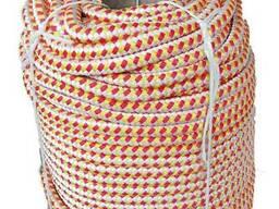 Канат полипропиленовый плетеный 14 мм*100 м