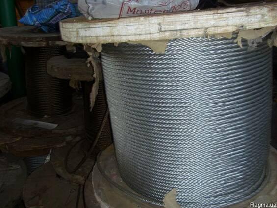 Канат (Трос) стальной ГОСТ 2688-80 Диаметр 28,0 мм