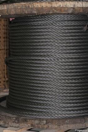 Канат (Трос) стальной ГОСТ 2688-80 Диаметр 3,8 мм