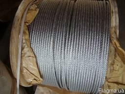 Канат (Трос) стальной ГОСТ 2688-80 Диаметр 9,6 мм