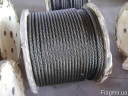 Трос нержавіючий 1х19 ф 1, 0-16, 0 мм ДИН 3052