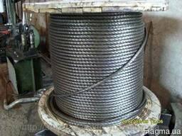 Трос стальной Ф 18 мм ГОСТ 2688-80