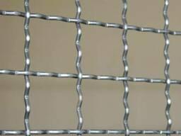 Канилированная сетка с квадратными ячейками
