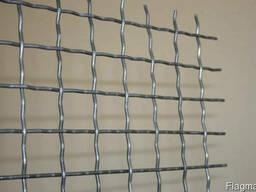 Канилированная сетка. Сетка из рифленой проволоки ГОСТ3306-88