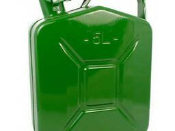 Канистра 5-л (зеленая) вертикальная