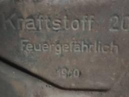 Канистра с под топлива Германия 1940г.