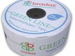 Капельная лента 7 mil 15 см GREEN LINE