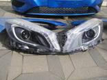 Капот Бампер Крыло Фары Mercedes A W176 2012-2014 - photo 1