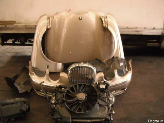 Капот Бампер Крыло Фары Телевизор Jaguar S-type