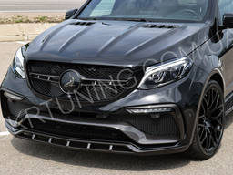 Капот Mercedes GLE Wagon W166