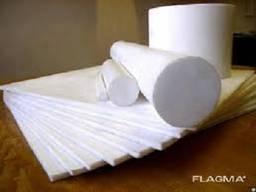 Капролон (полиамид), стержень, белый, 200 мм, длина 1000 мм.
