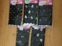 Капроновые лосины с рисунком под юбку для девочки 9-13