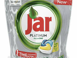 Капсулы для посудомоечных машин Platinum all in one (27 шт)