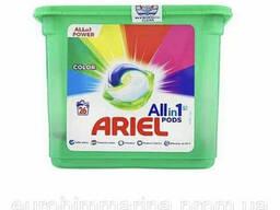 Капсулы для стирки Ariel Pods color 26 шт