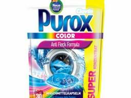 Капсулы для стирки Purox Color 30шт