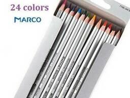 Карандаши Marco Raffine 24 цвета 7100TN