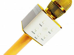 Караоке Микрофон Wster Q7 Gold