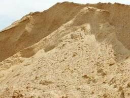 Карьерный песок не сеяный