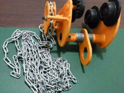 Каретка для тали (механизм передвижения тали с приводом)
