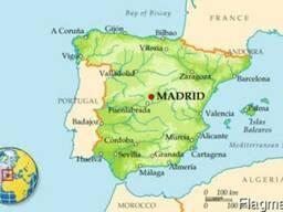 Доставка товара из Испании