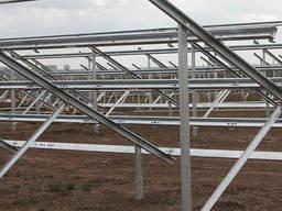 Каркас крепление солнечных панелей электростанций