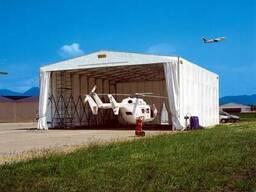 Каркасно-тентовые конструкции для авиатехники - фото 3