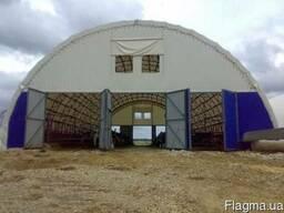 Каркасно-тентовые сооружения для сельского хозяйства - фото 1