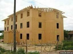 Каркасное строительство быстро монтируемых облегчённых домов