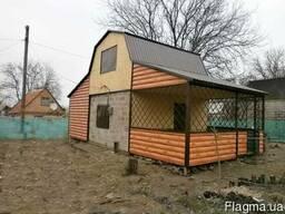 Дачные дома, быстровозводимые дома