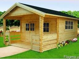 Каркасный дом, сруб, баня. Строительство из бруса и термобру