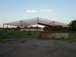 Ангар, навес для техники, склад. Строительство и реконструкц