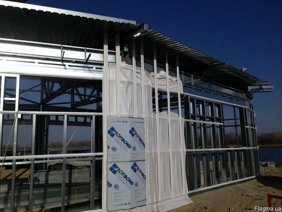 Каркасные быстромонтируемые сооружения и здания ЛСТК БМЗ