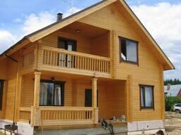 Каркасные дома из деревянных конструкций