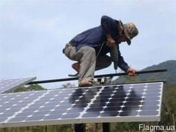 Каркасы для солнечных панелей!