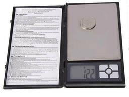 Карманные ювелирные электронные весы в виде книжки. ..