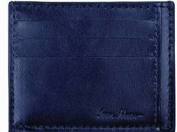 Картхолдер с гладкой кожи синий ssHrCH1 (03-00)