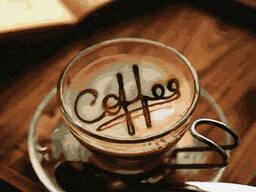 """Картина по номерам. Brushme """"Кофе в чашке"""" (GX29736)"""