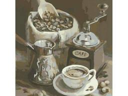 """Картина по номерам. Идейка """"Утренний кофе"""" 40х50см (KHO2047)"""