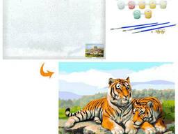Картина по номерам Тигр MK 4649-13